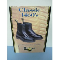 Vintage Doc Martens Classic 1460 dealer promotional cardboard counter display