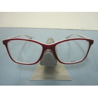 Oakley womens Showdown Red Quartz RX eyeglass frame OX1098-0453 NEW w/O case