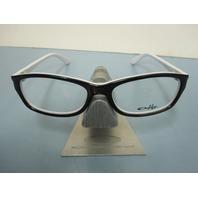 OAKLEY womens Entranced RX eyeglass frame Tuxedo OX1063-0152 NEW in O case