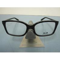 OAKLEY womens Intention RX eyeglass frame Black OX1130-0152 NEW in O case