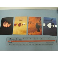 Kate Bush 2010 rare Aerial promotional 4 postcard set NEW old stock Flawless