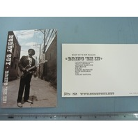 Buddy Guy 2005 rare Bring `em in promotional postcard NEW old stock Flawless