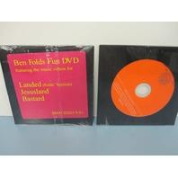 Ben Folds 2006 Fun Promo Ltd.Ed. 3 Track DVD NEW old stock Sealed