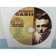 Johnny Cash ‎2005 The Complete Sun Recordings 1955-1958 sampler promo CD New