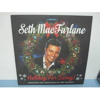 Seth MacFarlane ‎2014 Holiday For Swing! Red Vinyl Limited Edition # 837 New