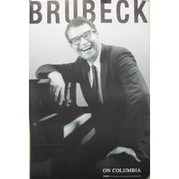 Dave Brubeck 1998 on columbia BIG promotional poster Excellent NEW old stock