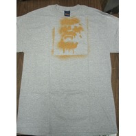 FUCT vintage 90's Spray Ape LG Heather Grey/Rust T-Shirt New Old Stock In Baggy