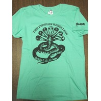 FUCT vintage 2005 Rebellion LG Womens Green T-Shirt New Old Stock In Baggy