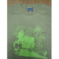 FUCT vintage 90's Combat Rock XLG Green T-Shirt New Old Stock In Baggy