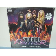 Steel Panther ‎2009 Feel The Steel sealed Record LP w/Free Stickers