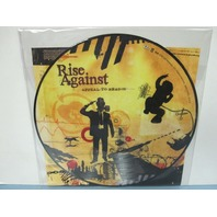 "Rise Against ‎2008 Appeal To Reason 12"" LP Picture Disc Vinyl Never Played"