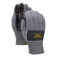 BURTON snowboard mens Ember Fleece Glove Faded Heather Large NEW in package