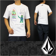 VOLCOM 2012 Yo Gabba Gabba Jack Black LTD.ED. tee-shirt MED New Old Stock