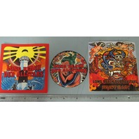 Long Beach Dub Allstars Promotional 3 Sticker Set New Old Stock Flawless Sublime