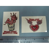 Long Beach Dub Allstars Promotional 2 Temp Tattoo Set New Old Stock Sublime