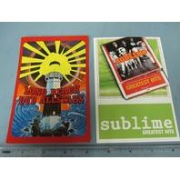 Long Beach Dub Allstars Sublime Promotional 2 Postcard Set New Old Stock