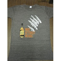 Jim Beam Honey Whiskey tee-shirt Womens Small New Old Stock Flawless
