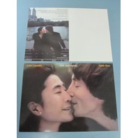 John Lennon Yoko Ono 2003 Milk and Honey promotional postcard NEW old stock