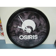 OSIRIS skateboard Dealer WAll Clock Brand New in Box Flawless