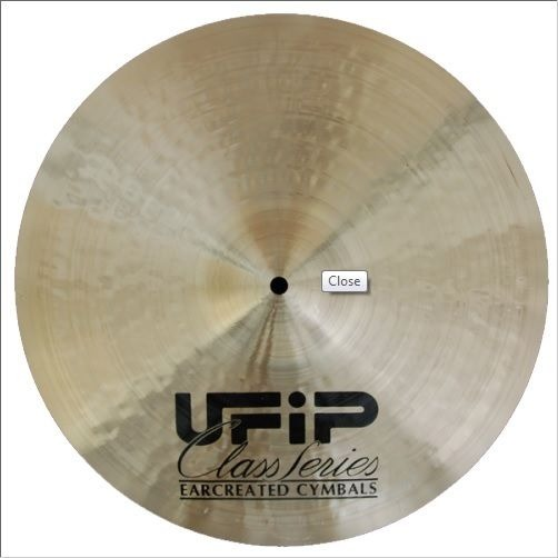 ufip class series 21 crash cymbal light streetsoundsnyc. Black Bedroom Furniture Sets. Home Design Ideas