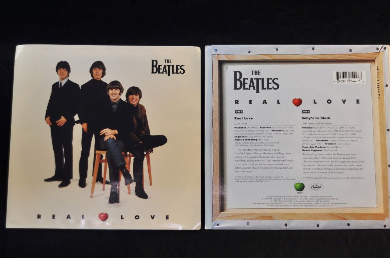 Beatles Real Love Vinyl 45 2 Pack Streetsoundsnyc
