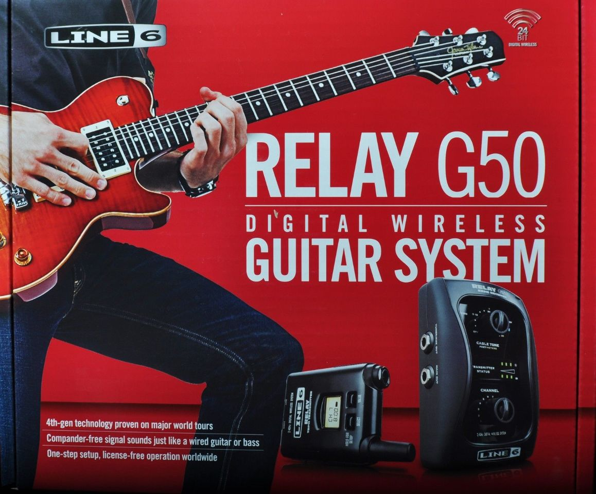 line 6 relay g50 digital wireless guitar system streetsoundsnyc. Black Bedroom Furniture Sets. Home Design Ideas