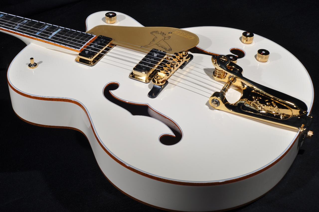 gretsch g6136t lds new white falcon guitar w hardshell case streetsoundsnyc. Black Bedroom Furniture Sets. Home Design Ideas