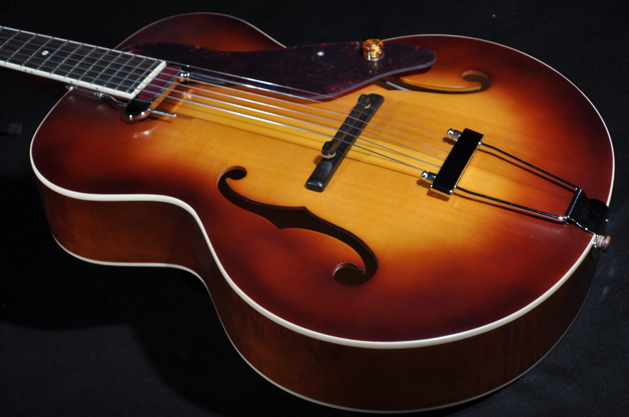 gretsch g9555 new yorker archtop acoustic electric guitar streetsoundsnyc. Black Bedroom Furniture Sets. Home Design Ideas