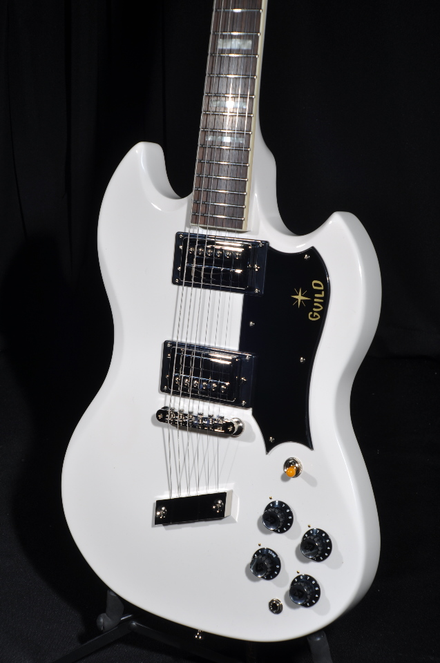 Tv Jones Pickups >> GUILD S-100 POLARA WHITE GUITAR | StreetSoundsNYC