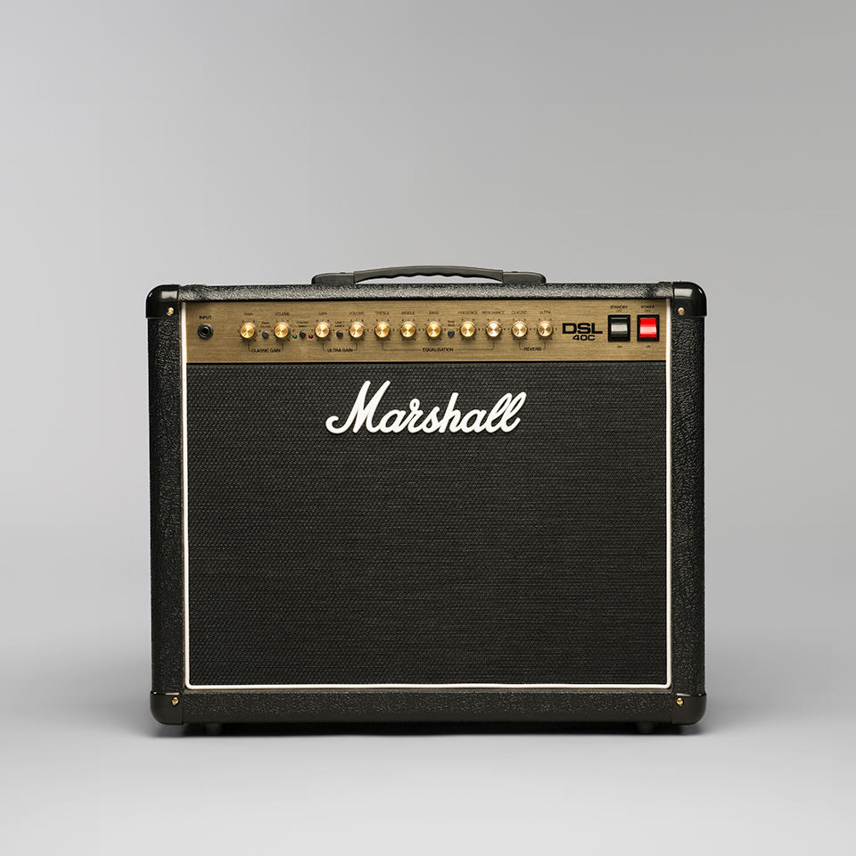 marshall dsl40c 40w 1x12 combo guitar amplifier streetsoundsnyc. Black Bedroom Furniture Sets. Home Design Ideas