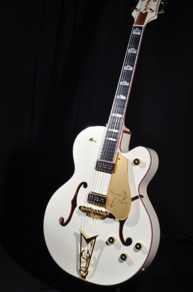 Tv Jones Pickups >> GRETSCH G6136-55VS WHITE FALCON VINTAGE SELECT W/CADILLAC ...