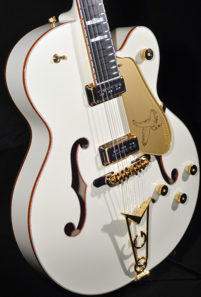 GRETSCH G6136 55VS WHITE FALCON VINTAGE SELECT W CADILLAC TAILPIECE