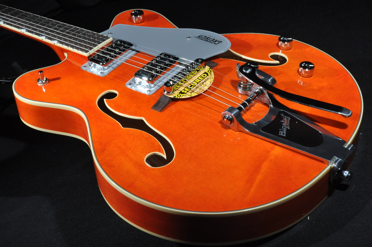 Tv Jones Pickups >> GRETSCH G5422T ORANGE NEW EDITION ELECTROMATIC DOUBLE ...