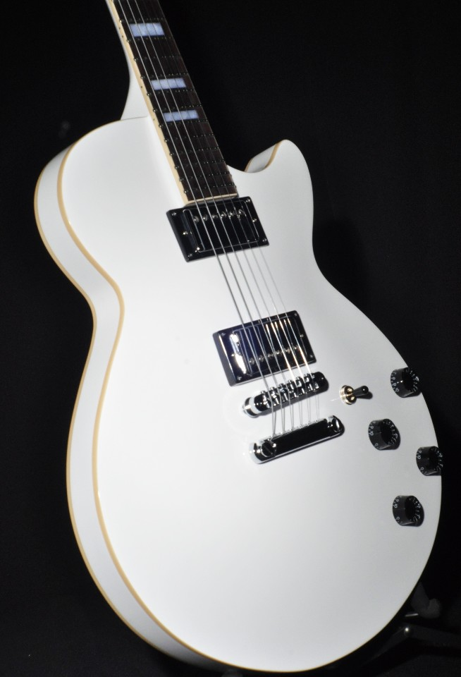 D Angelico Premier Ss White Semi Hollow Body Center Block