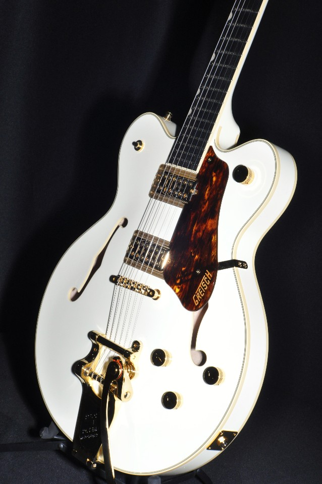 GRETSCH G6609TG VINTAGE WHITE PLAYERS EDITION BROADKASTER GUITAR   StreetSoundsNYC