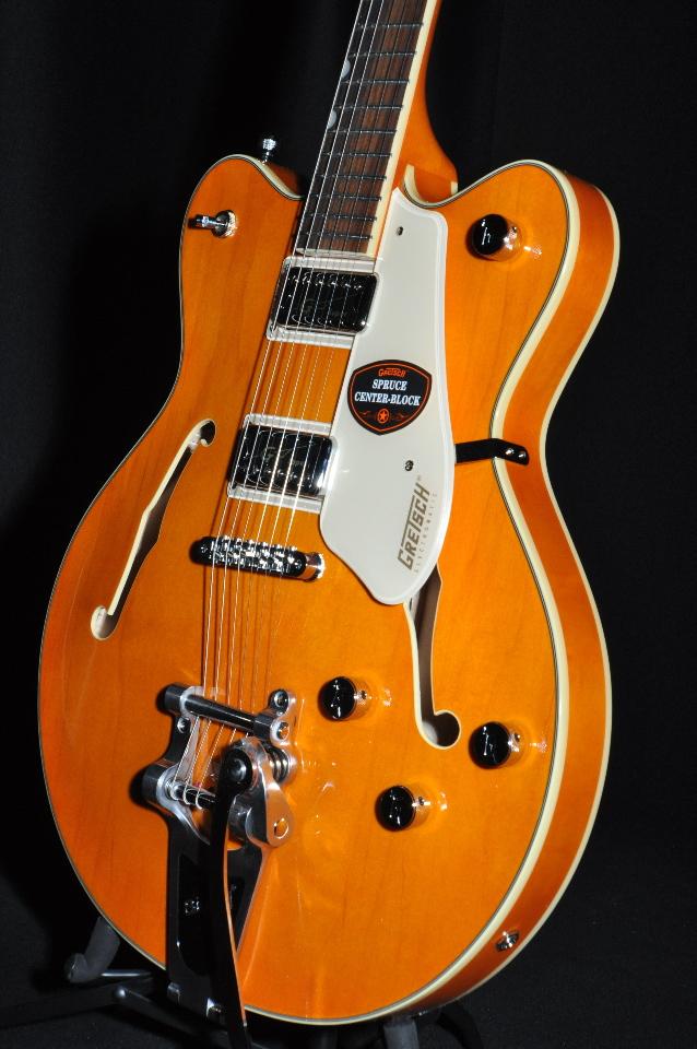 gretsch g5622t electromatic center block guitar vintage orange streetsoundsnyc. Black Bedroom Furniture Sets. Home Design Ideas