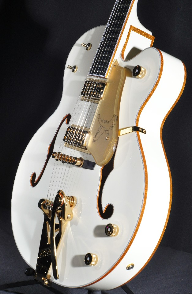 Tv Jones Pickups >> Gretsch G6136T-59VS Vintage Select White Falcon Guitar New ...