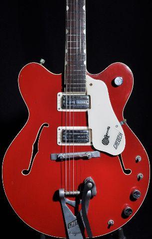 1967 vintage gretsch monkees rock n roll model red guitar - Rock n roll mobel ...