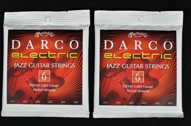2 sets martin darco d9100 light gauge jazz electric guitar strings 12 52 streetsoundsnyc. Black Bedroom Furniture Sets. Home Design Ideas