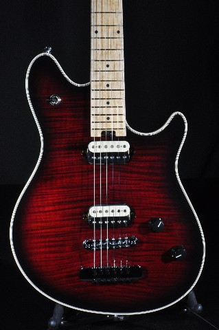 EVH WOLFGANG USA HT BLACK CHERRY BURST GUITAR W/HARDSHELL CASE NEW