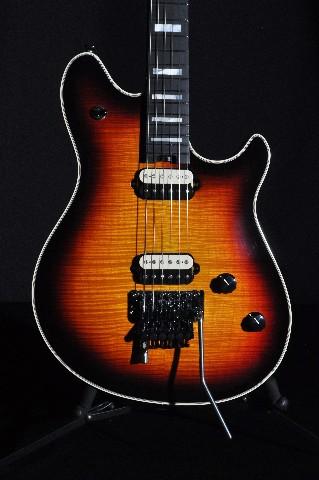 EVH USA Wolfgang 5A Flame  3-Tone Burst Guitar WG05484A