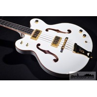 GRETSCH  G6136LSB WHITE FALCON BASS BRAND NEW HARDSHELL INCLUDED