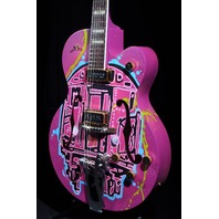GRETSCH  G6120KB  KAVES BROOKLYN #3/12 '' BROOKLYN MADE'' GRAFFITI GUITAR
