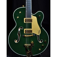 GRETSCH G6196T COUNTRY CLUB CADILLAC GREEN GUITAR JT14010521