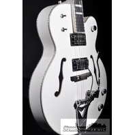 GRETSCH G7593T-BD BILLY DUFFY WHITE FALCON GUITAR HARDSHELL INCLUDED