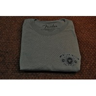 FENDER BILL TEE SHIRT GREY LARGE