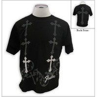 FENDER CUSTOM SHOP BELOVED TEE SHIRT BLACK SMALL