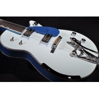 GRETSCH USA CUSTOM SHOP TWO TONE MARINE BLUE PENGUIN GUITAR