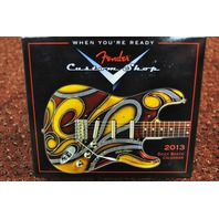 FENDER CUSTOM SHOP 2013 DAILY BOXED CALENDAR