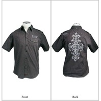 "Fender Custom Shop ""Sweet Surrender""  Shirt Black Small"